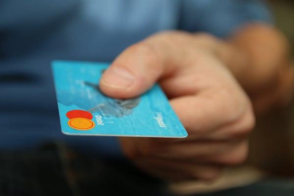 blue mastercard card